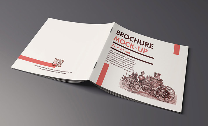 Folder brochure mockup mockups design free premium for Brochure design mockup