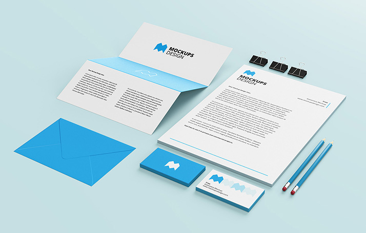 corporate identity archives - mockups design | free premium mockups, Powerpoint templates