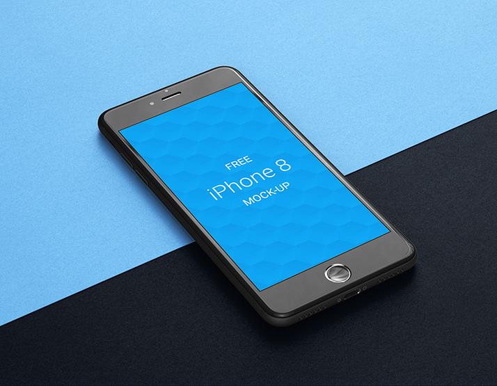 Free iPhone 8 Mockup