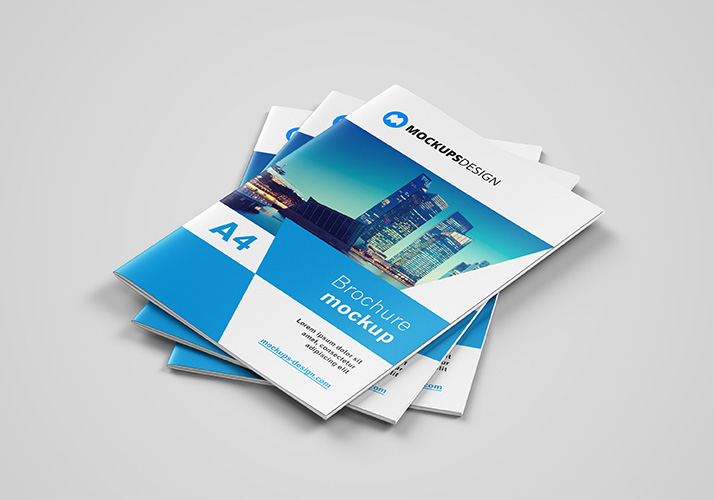 download free a4 brochure mockup psd our new a4 brochure mockup is available for download its made in high resolution its fully customizable and it has - A4 Brochure Template Psd Free Download