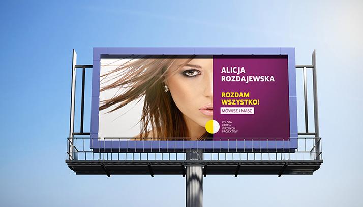 Free billboard mockup