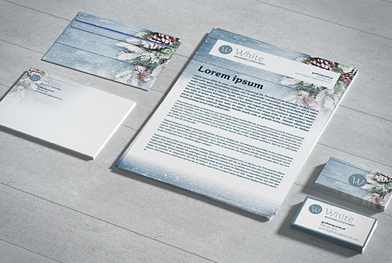 Free Small stationery / Branding mockup