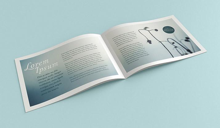Landscape Brochure Mockup  Mockups Design  Free Premium Mockups