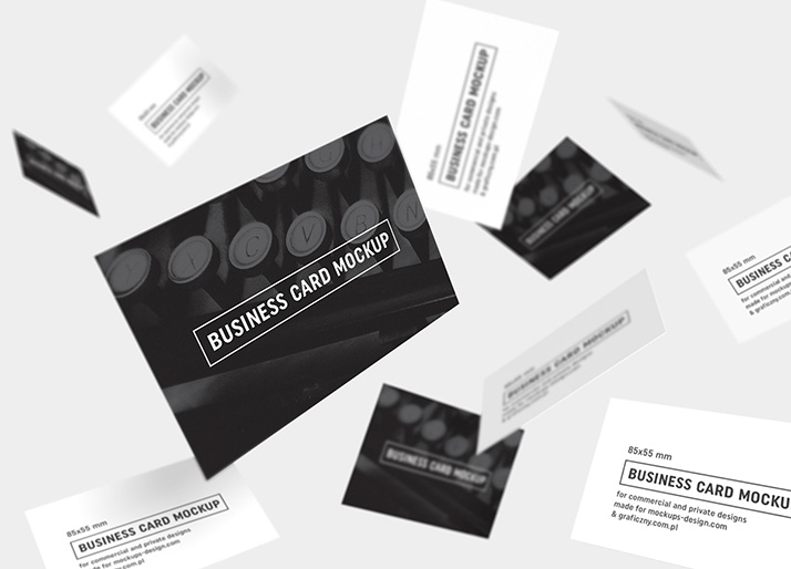 Business cards mockup 85x55 mm mockups design free premium mockups business cards mockup 85x55 mm reheart Gallery