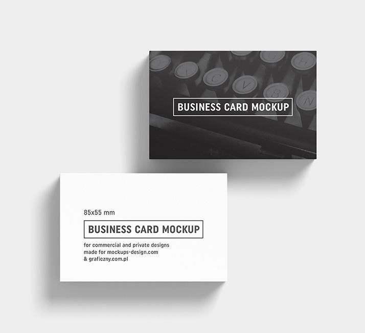 Business Cards Mockup 85x55 Mm Mockups Design Free
