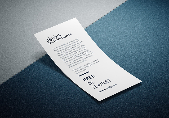 Dark Elements / DL Leaflet mockup