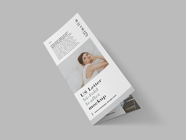 Free US letter bi-fold leaflet