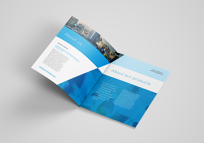 Free A4 Brochure Mockup Mockups Design Free Premium
