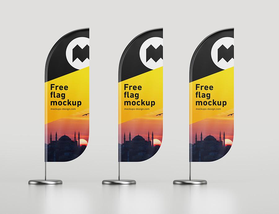 Free rounded winder mockup