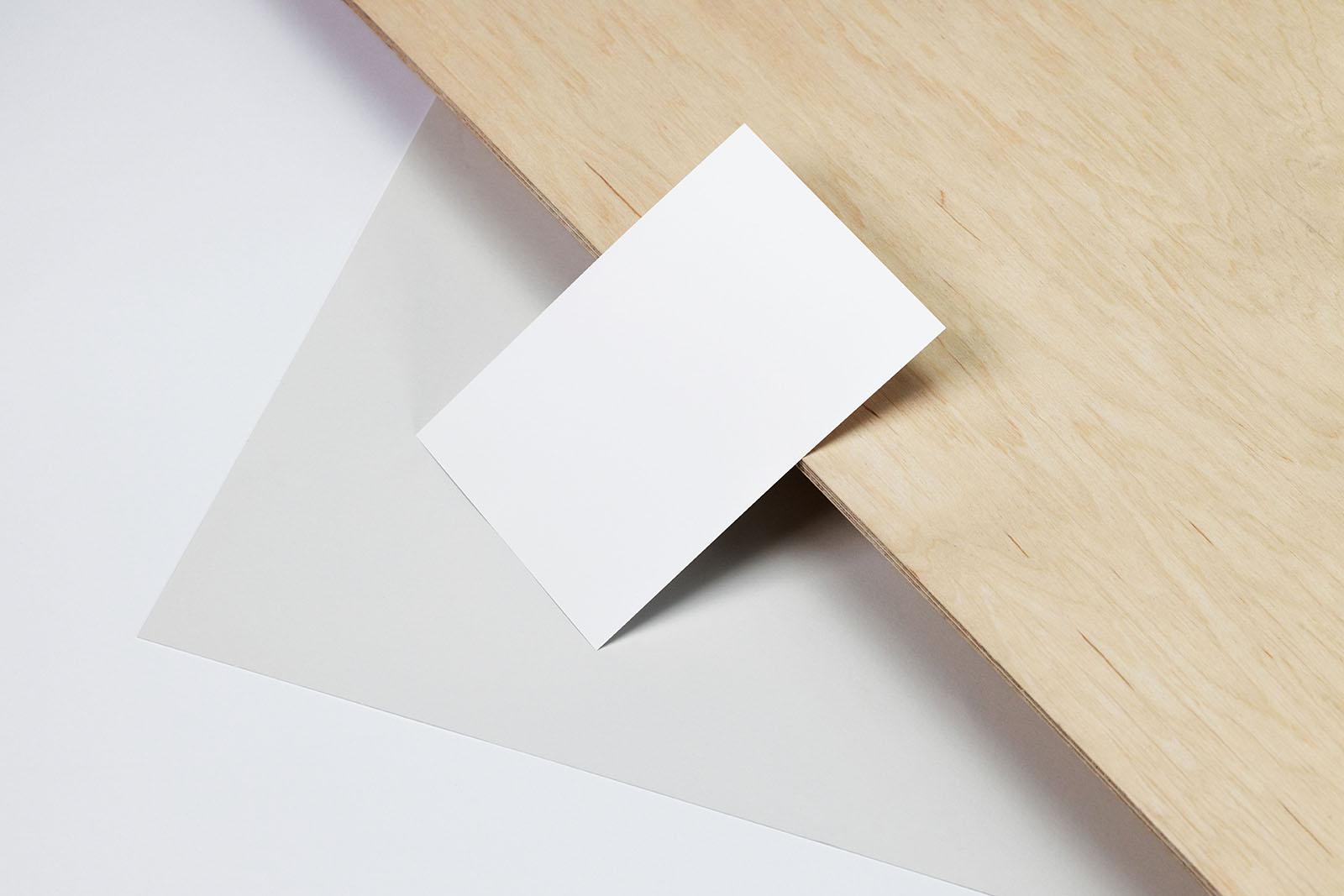 Simple A6 flyer mockup