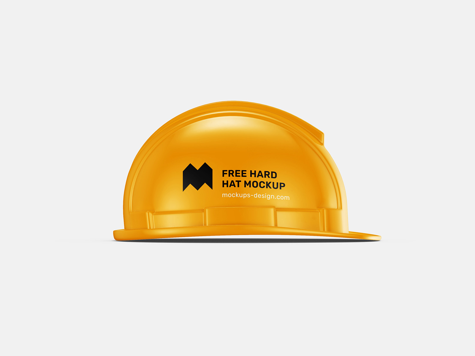 Free hard hat mockup