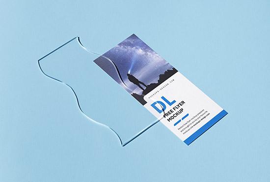 Single 3,5x8,5 in flyer mockup